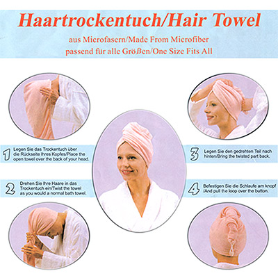 Mikrofaser Hair Towel